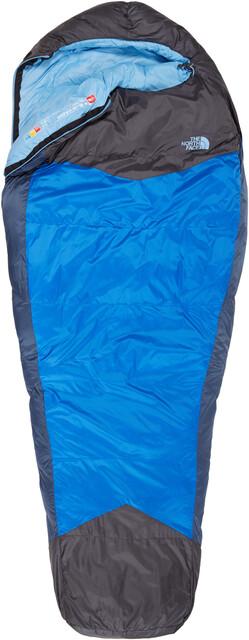 The North Face W's Blå Kazoo Sleeping Bag Reg Blå Coral/Asphalt Grå